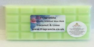 85 gram Highly Scented Wax Melt bar (COCONUT & LIME)